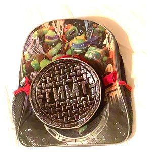 Ninja Turtles Backpack & Lunchbox